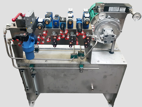 Centrales hydrauliques inox