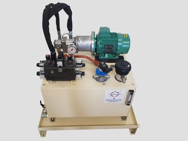 centrale hydraulique système hydraulique